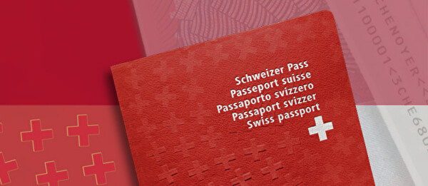 Bild eines Passes