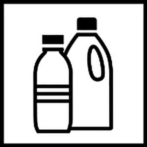 Piktogramm Plastikflachen