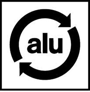 Monogramm für Aluminium