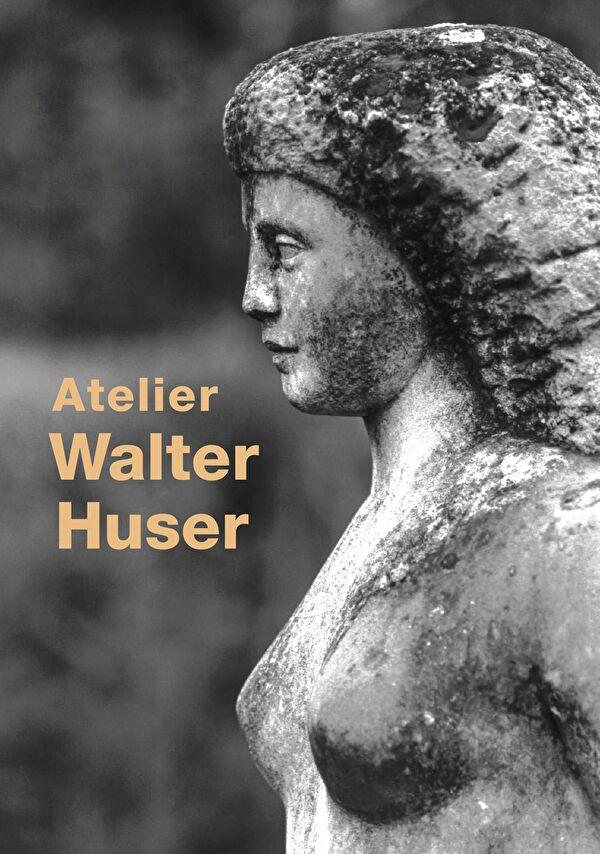 Walter Huser: Weiblicher Akt in Stein, um 1970