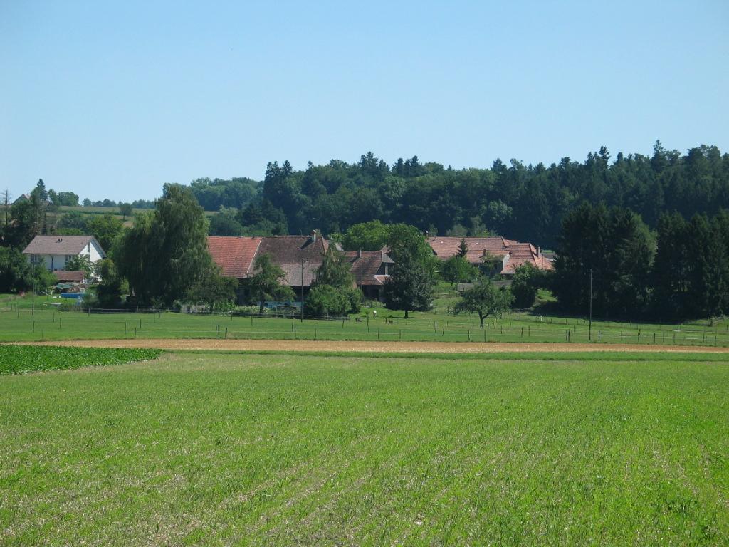 Dorf aus Richtung Biel