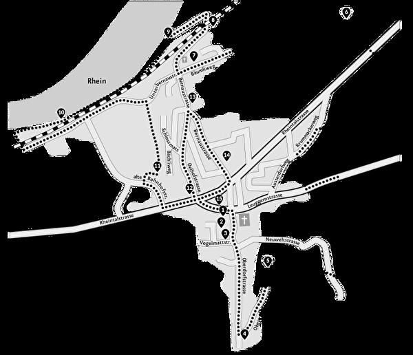 Karte Bänkliweg