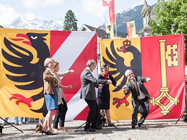 Genf besucht Altdorf