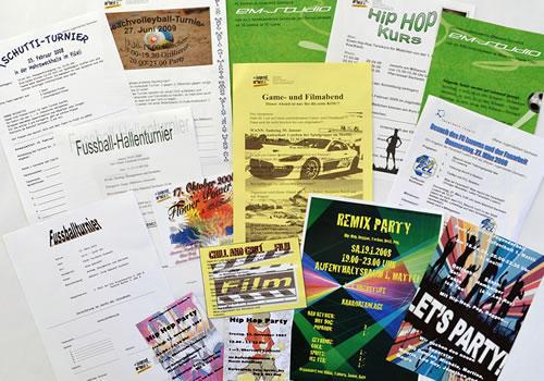 Plakat Veranstaltungen