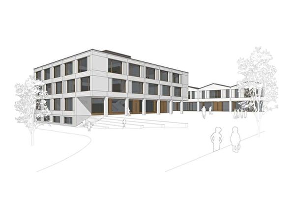 Baufortschritt Neubau Schulhaus Türli