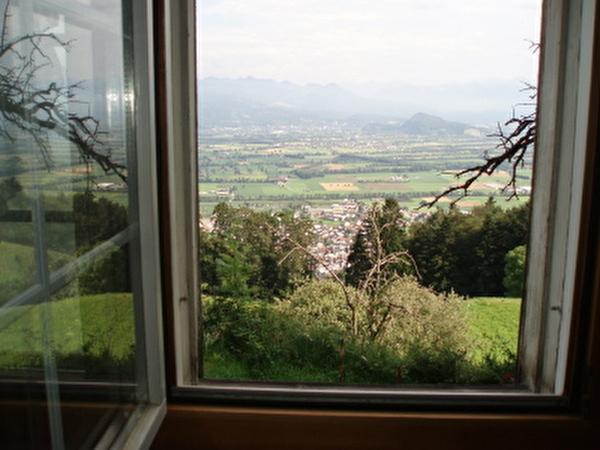 Das Rheintal zu Füssen