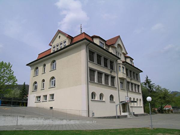 Aujla Schulhaus 1912
