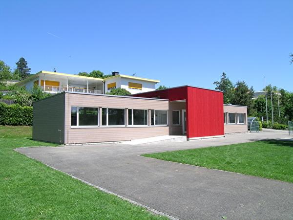 Pavillon, Standort zweite Spielgruppe