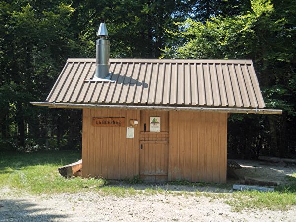 Photo refuge de la Boënnaz à Pampigny