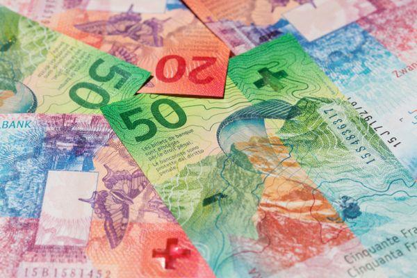 Schweizer Noten (Geld)