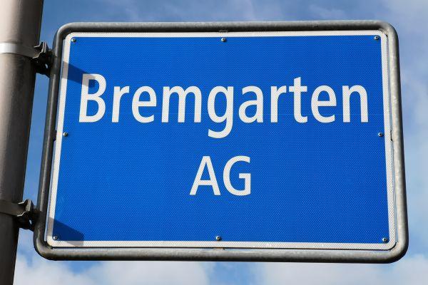 Ortseingangstafel von Bremgarten