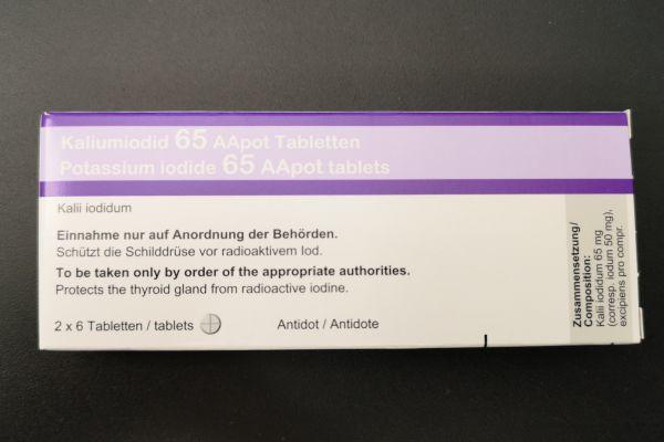 Kaliumiodid-Tabletten