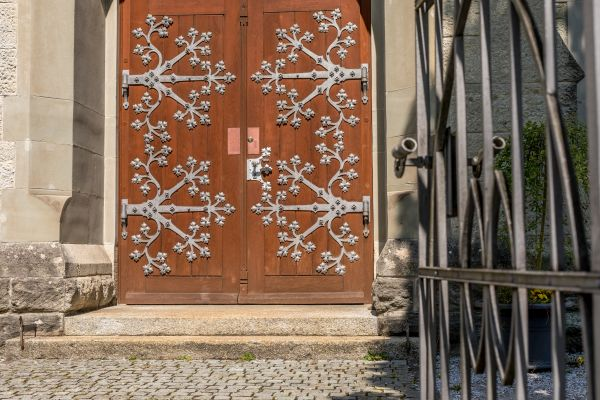 altes Kirchentor von Bremgarten