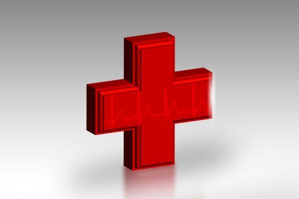 Bild vom roten Kreuz