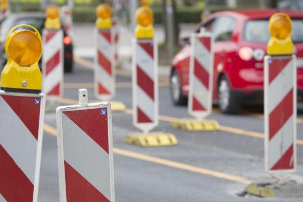 Verkehrssignale auf der Strasse