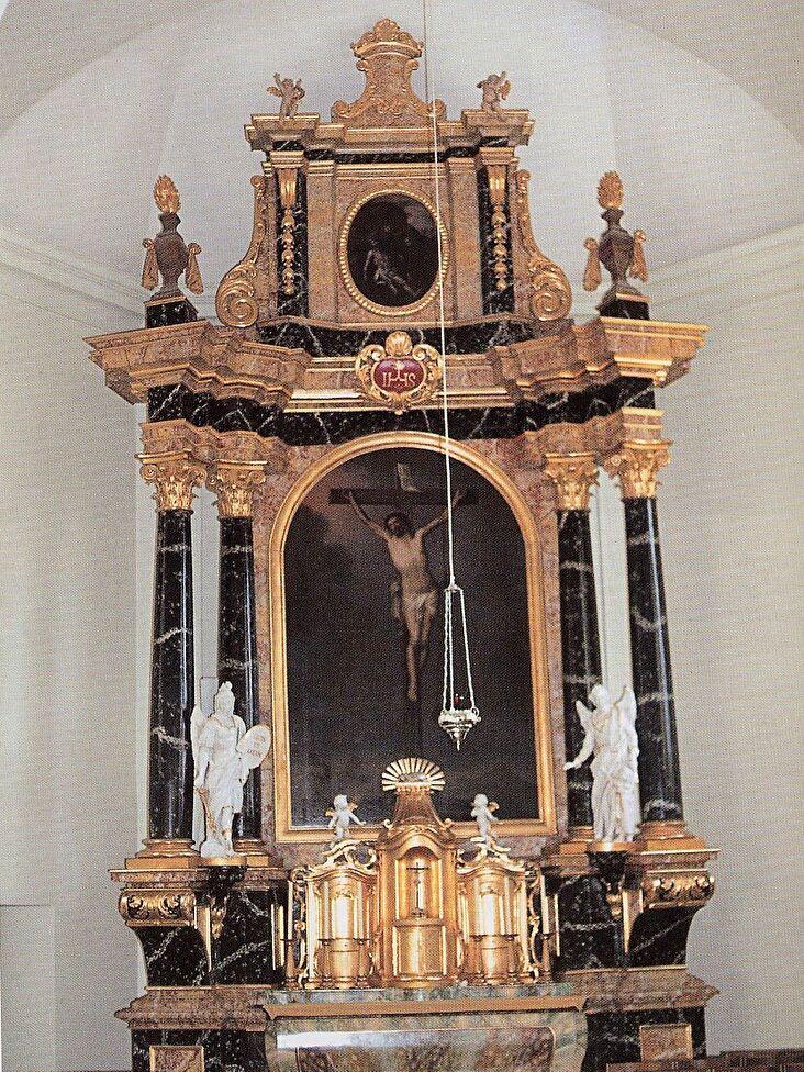 Hochaltar in der Kirche St. Michael
