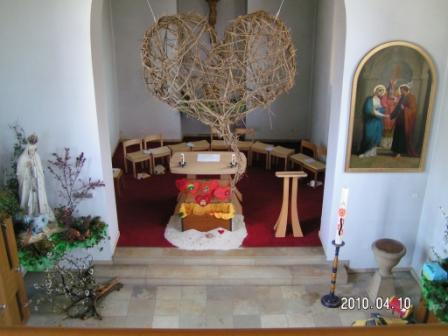 Altarraum Kirche Ittenthal