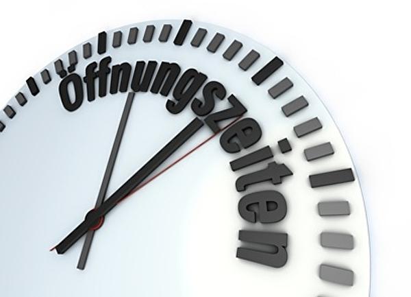 Uhr Öffnungszeiten