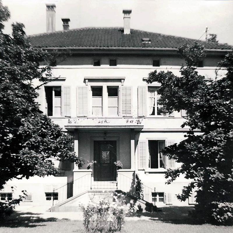 Waisenhaus Richterswil, Bild aus den 1950er-Jahren
