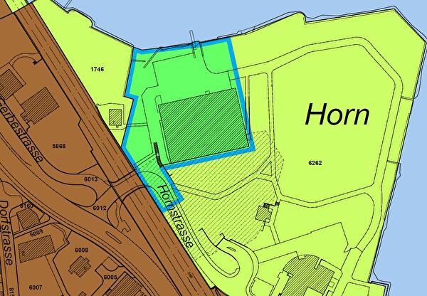 Ausschnitt Zonenplanrevision Im Horn
