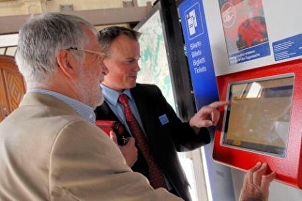 Neue Billetautomaten SOB
