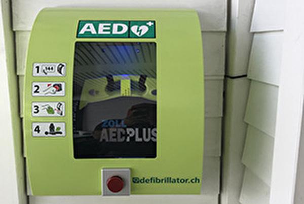 Standorte Defibrillatoren Richterswil
