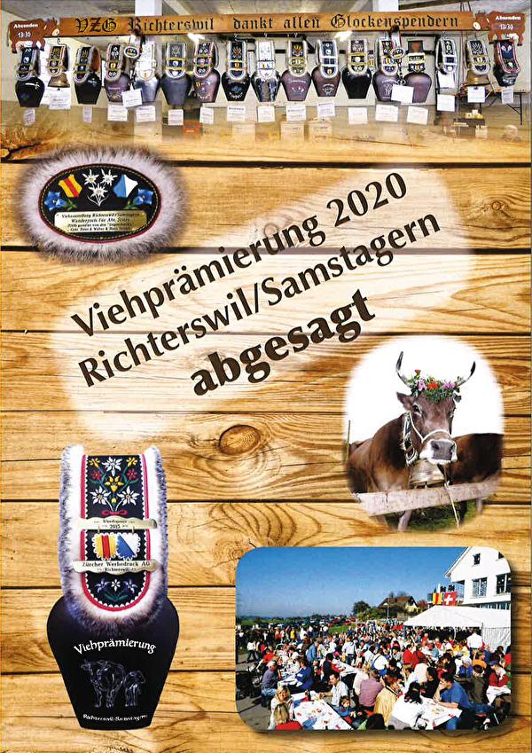 Viehprämierung 2020 abgesagt.