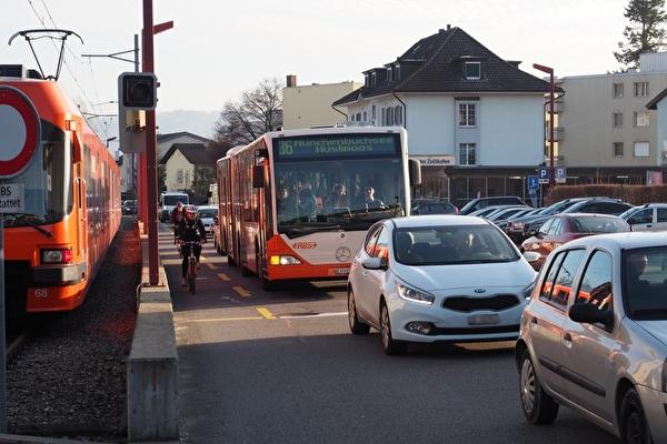 Verkehr Unterzollikofen