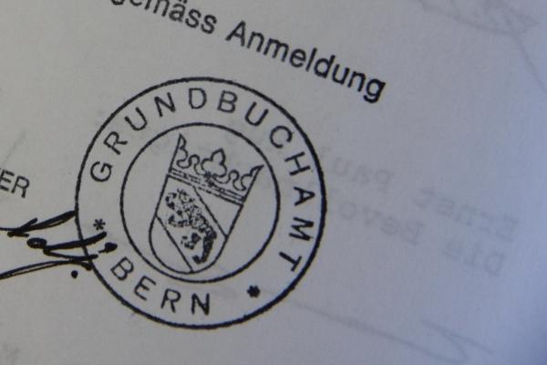 Stempel Grundbuchamt