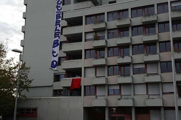 Hausbesetzung Wahlackerstrasse 5