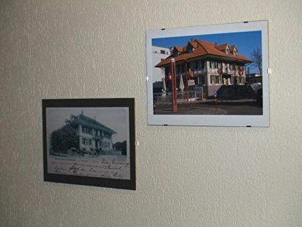 Zwei Fotografien gestern und heute