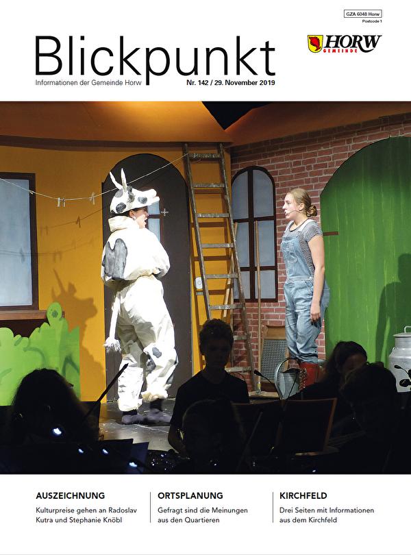 Titelseite Blickpunkt November 2019