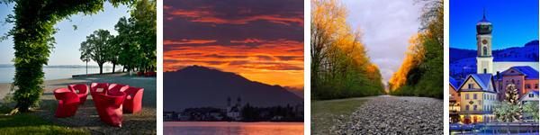 Lachen im Frühling, Sommer, Herbst und Winter