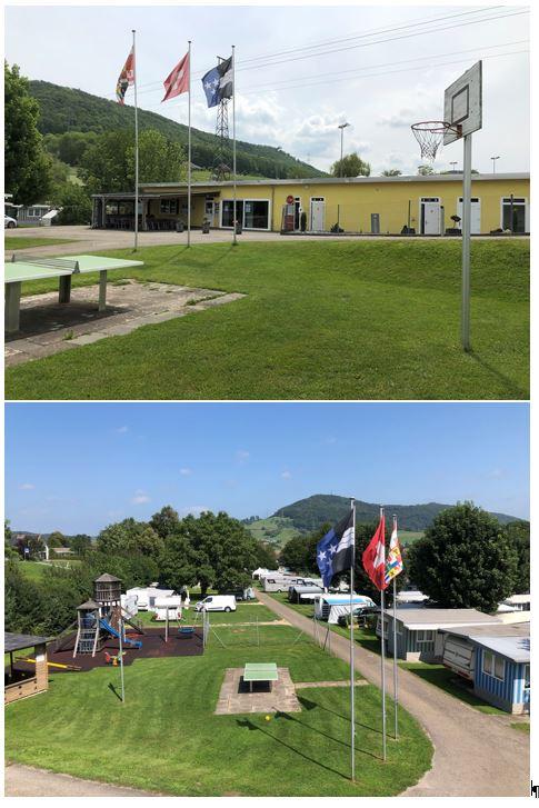 Restaurant und Camping