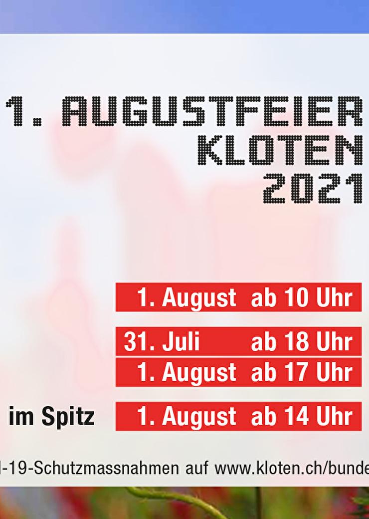 Programm 1. Augustfeier 2021