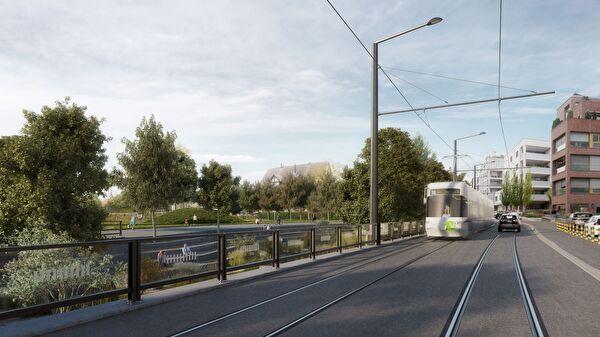 Glattalbahn-Verlängerung Kloten