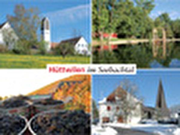 Postkarte mit vier Motiven