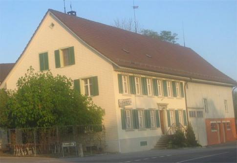Ansicht Restaurant Löwen Nussbaumen