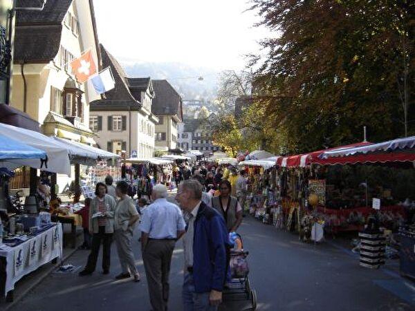 Herbstmarkt in Malters