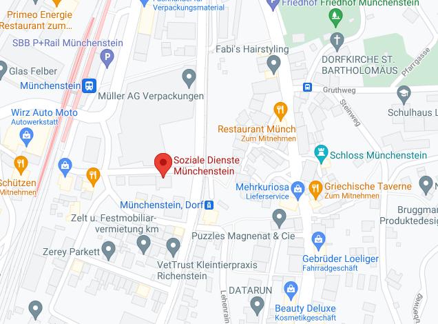 Google Maps Soziale Dienste