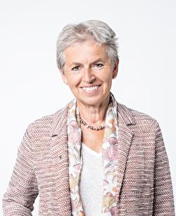 Portraitbild Gemeindepräsidentin Jeanne Locher