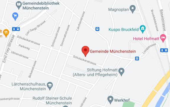 Google Maps Bauverwaltung