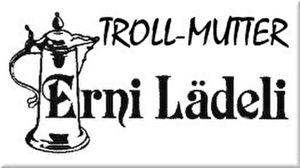 Logo Erni Lädeli Troll-Mutter