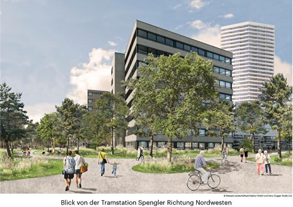 Visualisierung Spenglerpark