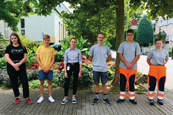 Die neuen Lernenden der Gemeinde Münchenstein