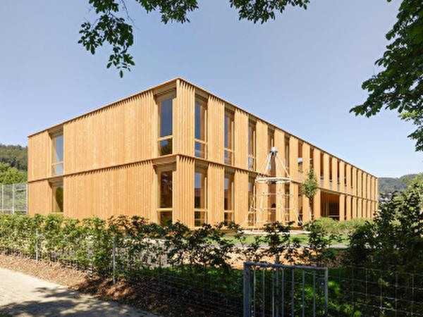 Neubau Schulgebäude Rain 25