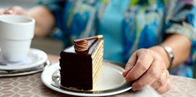 Kaffee mit Kuchen