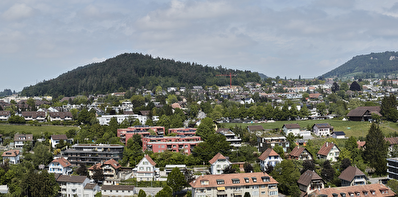 Blick auf Mannenberg