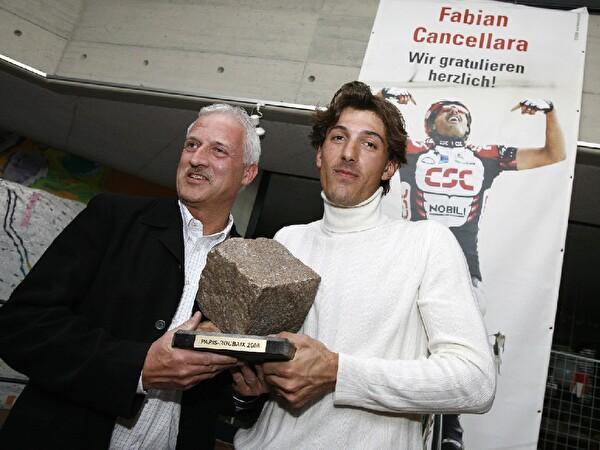 Beat Giauque und Fabian Cancellara