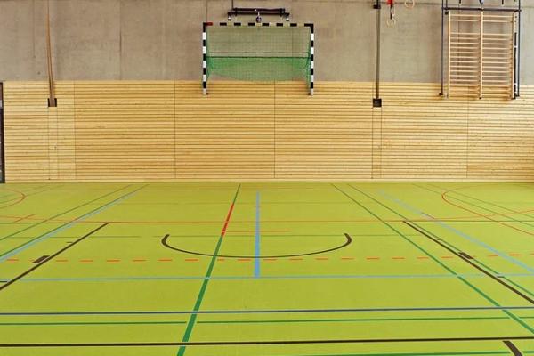 Ansicht Sporthalle